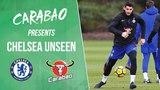 Morata Scores Screamer &amp Cahill's Cheeky Rabona In Shooting Practice Chelsea Unseen