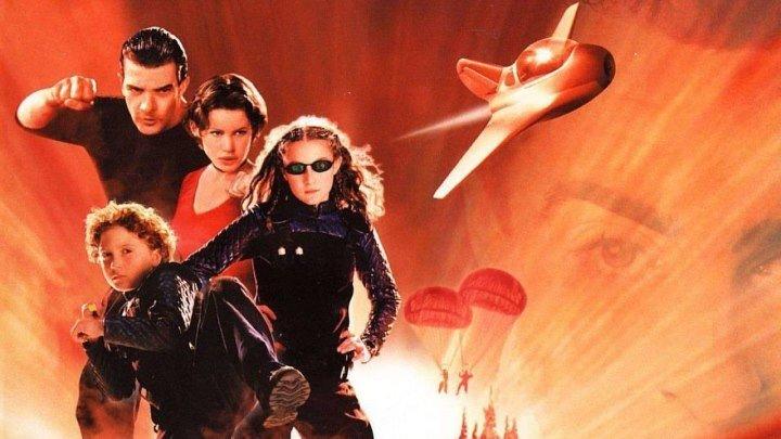 Дети шпионов HD(приключенческий фильм, боевик, комедия, Семейный фильм)2001 (6)