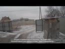 Краматорск 10 февраля,2015 Обстрел города РСЗО Смерч камера наружного наблюдения