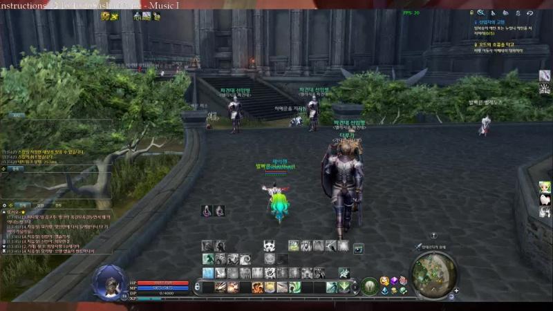Aion 6.0 KR Poeta Server (Cleric Gameplay Gelkmaros PvP)