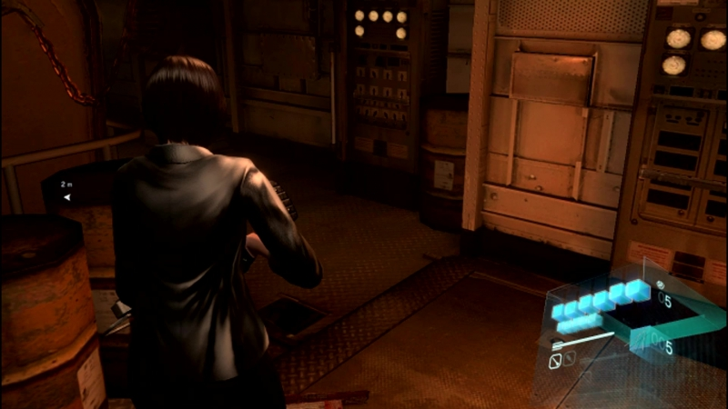 Resident Evil 6 - Ada Wong in action (Submarine Stealth I)
