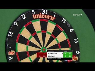 Gary Anderson vs Daryl Gurney (2018 Premier League Darts / Week 5)