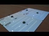 Тренажёр-мишень TENNIS-MARK для большого тенниса