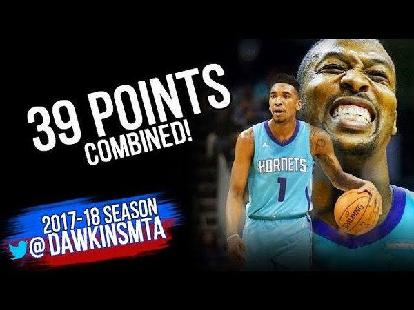 Malik Monk Dwight Howard 39 Pts 2018.3.31 Washington Wizards vs Charlotte Hornets | FreeDawkins