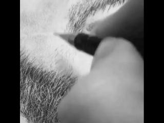 Как рисовать бородатых мужчин