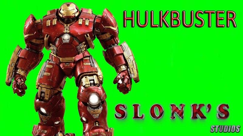 Hulkbuster Green Screen | Футаж Халкбастер