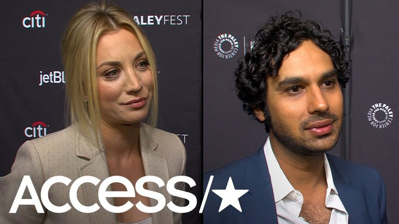 'Big Bang Theory': Kaley Cuoco Kunal Nayyar Talk Working With Guest Star Bill Gates | Access