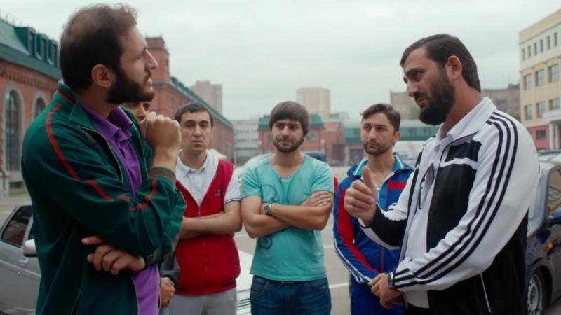 Хачики — Фрагмент из сериала Как я стал русским