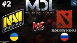 NaVi vs SM #2 (BO3) | MDL Major | CIS | 22.03.2018