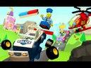 Лего Полицейская Машина Мультики про Машинки Игры для Детей Конструктор Lego Police