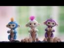 Обзор Интерактивная игрушка обезьянка Fingerlings Monkey