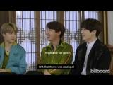 Rus Sub Рус Саб BTS Reveal Their Favorite Movie, Guilty Pleasure  More @ Billboard
