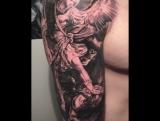 Моя первая татуировка.