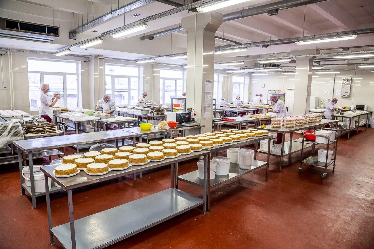 """Новый производственный цех """"Фабрика качества"""" торты."""