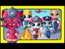 КОТИКИ ВПЕРЕД! КОТЫ-спасатели ЗООВИЛЯ! Новые мультики для детей про кошек и котов.