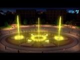 Видео-модель фонтана на эспланаде