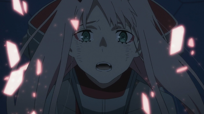 DARLINIG in the FRANXX episode 15, Hiro and Zero Two <3