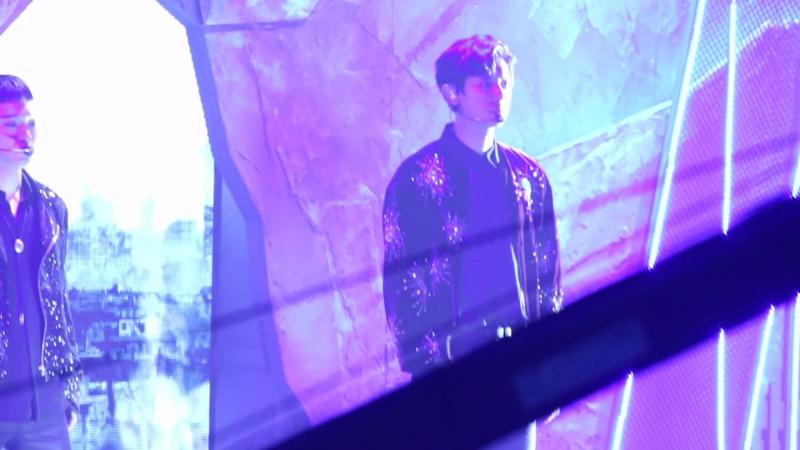 [FANCAM] 171201 Mnet Asian Music Awards in Hong Kong @ EXO's Chanyeol - Ko Ko Bop