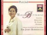 Madama Butterfly - Giacomo Puccini. Barbirolli.