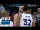NBA 2017-2018 / Regular season / Washington Wizards - Minnesota Timberwolves / Viasat Sport