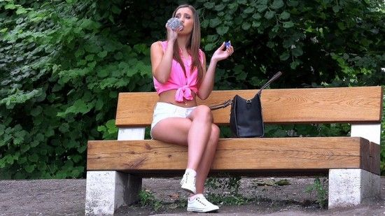 PublicPickUps – Lulu Love – Euro Hottie's Sexy Amateur Pussy