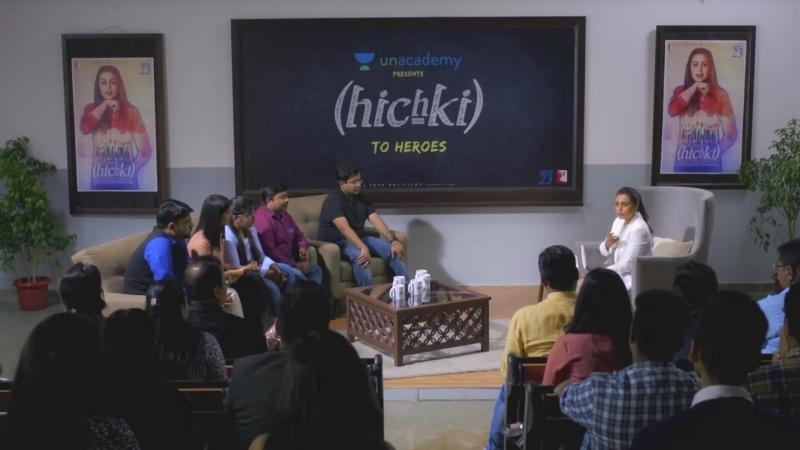 Unacademy presents Hichki to Heroes Rani Mukerji on Unacademy Hichki