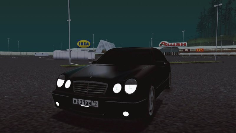 Mersedes-Benz E55 AMG. CCDPlanet 3.