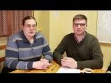 Игорь Попов и писатель Олег Комраков в передаче Эпиграф  06.03.17