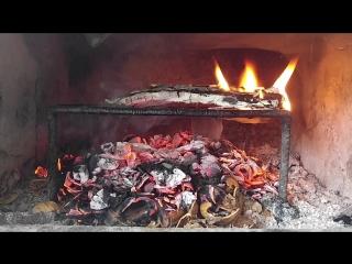 Ateş ile dinlenme