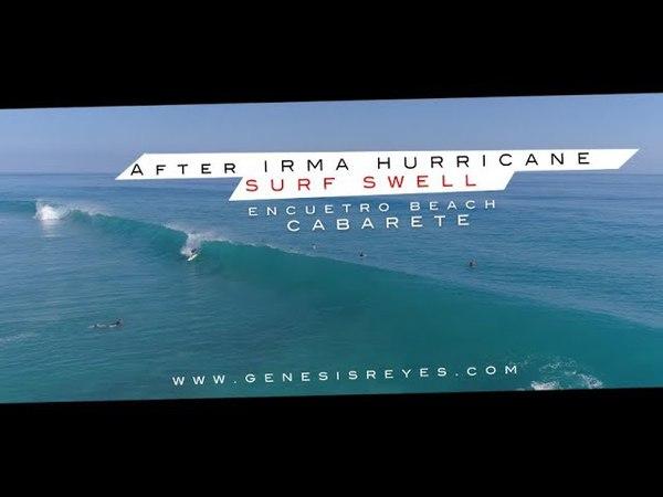 FANTASTIC SURF SWELL ! Encuentro Beach, CABARETE