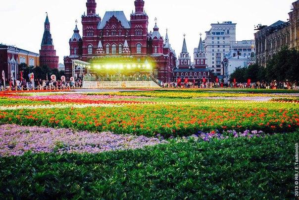 Летом Красная площадь сменит свой привычный облик!    Летом 2017 года