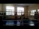Соревнования по боксу моего сына Сашули. 1 место .