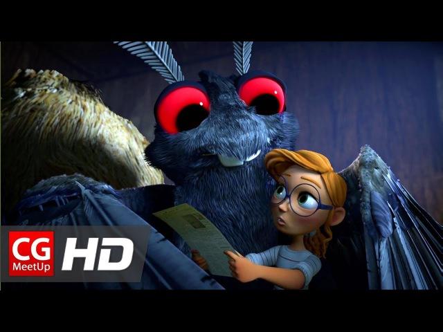 CGI Animated Short Film Attack of the Mothman by Meg Viola,Catrina Miccicke,Khalil Yan   CGMeetup