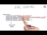 5 Синтаксис XML Android Basics