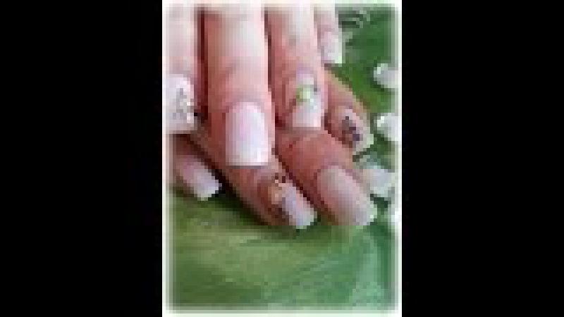 Gel Nägel auffüllen mit Bio soft Gel Softy Milk von Trendnails mein erster Liquid Stone