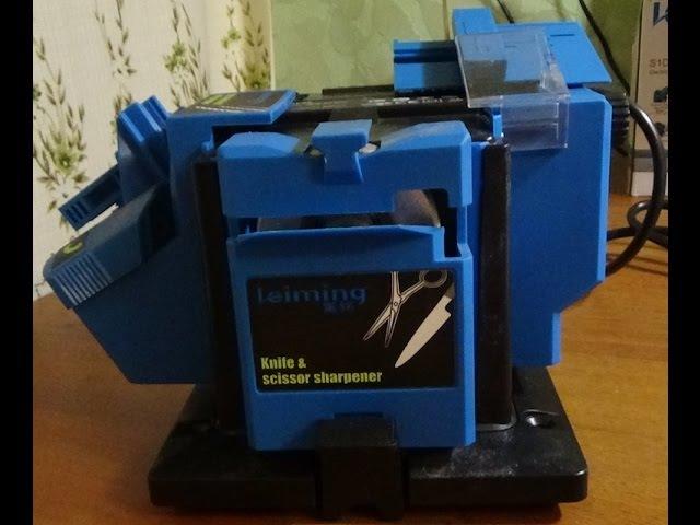 Электрический станок для заточки ножей ножниц сверл стамесок и зубил из Китая с Aliexpress