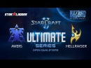 Ultimate Series Open Qualifier #1: Awers (T) vs HellraiseR (P)