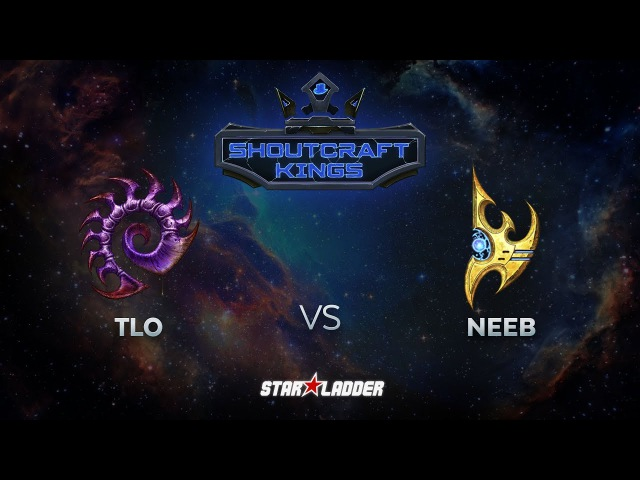 SHOUTcraft Kings August 2017: TLO (Z) vs Neeb (P)