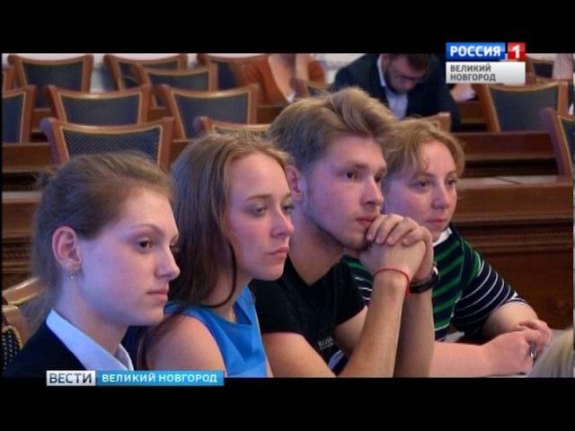 ГТРК СЛАВИЯ Никитин встреча молодежным активом 25 07 17