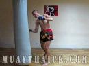 Тайский бокс (муай тай). Отработка техники ударов на мешке. Урок №4/Muay Thai. Working on bag nfqcrbq ,jrc (vefq nfq). jnhf,