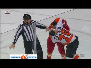 Pierre-Edouard Bellemare vs. Michael Ferland on 02/15/2017