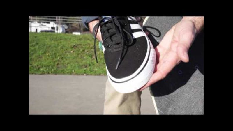 100 Kickflips in Adidas Adi Ease Shoes