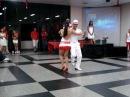 Geyse e Leo com Gafieira no Baile Vermelho e Branco ACM Osasco 19/12/2009