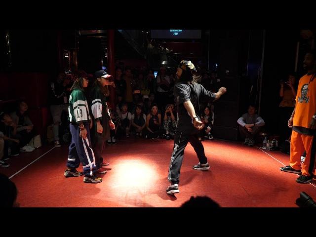 ICEE ALEX vs SUPERNOVA(Mia. Reina) BEST16 HIPHOP WDC 2017 FINAL WORLD DANCE COLOSSEUM Day1