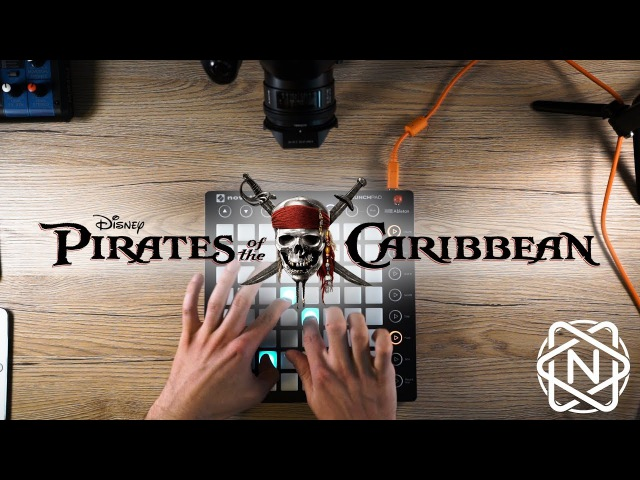 He's a Pirate Pirates of the caribbean Julius Nox Giulio's Page Launchpad Live Remix 2017