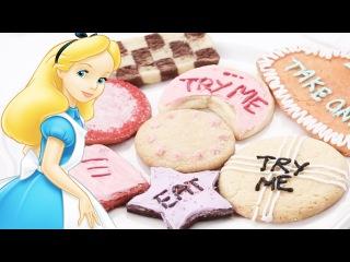 Alice in Wonderland Sugar Cookies | Dishes by Disney