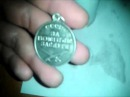 Чистим серебро в домашних условиях! (медаль 925 пробы)