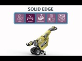 Solid Edge: Portfolio of Solutions for Product Design, Simulation, Manufactuing and Data Management