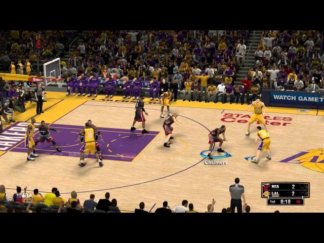 NBA 2k13 первый взгляд