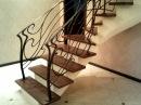 Перила 94 Изготовление лестниц из металла частного дома Днепропетровск кованые перила Днепр фото